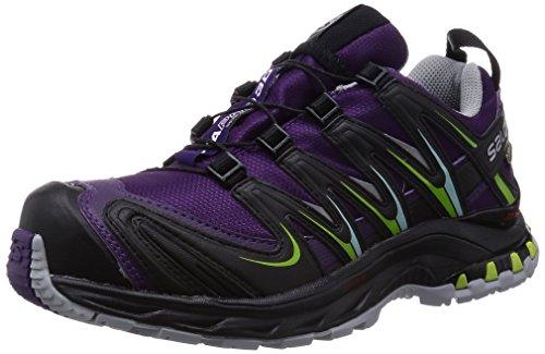 SalomonXA Pro 3D GTX - zapatillas de trekking y senderismo de media caña Mujer , color Morado, talla 37 1/3