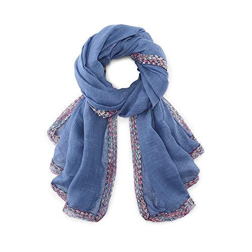Cox Erwachsene (Unisex) Trend-Schal Blau 1
