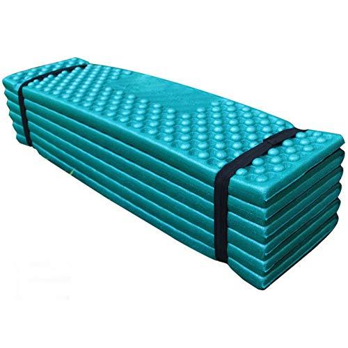 YLIKD Isomatte 190 * 50 cm Im Freien wasserdichte Camping Matratze Faltbare Strand Zelt Pad Schlafsack Ultraleicht Schaum Picknick Matte Camping Matratze (Schaum Schlafsack Pad)