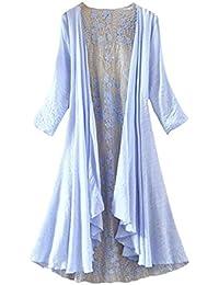 LifeWheel Sección delgada encaje irregular ropa de protección solar rebeca abrigo