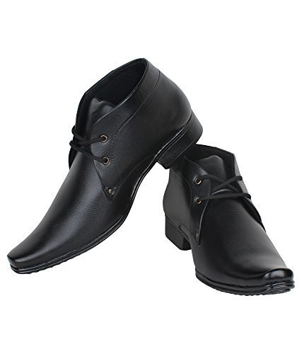 MEN'S SYNTHETIC LEATHER FORMAL SHOES AND PARTY WEAR LACE UP OFFICIAL SHOE FORMAL SHOES
