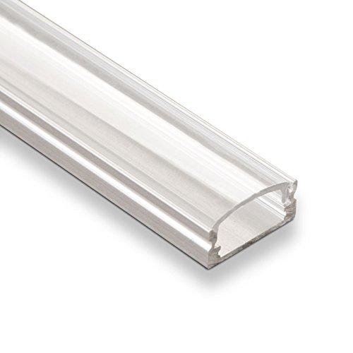 3 Stück SO-TECH® LED Profil-22 mit klarer Abdeckung je 2m für LED Streifen