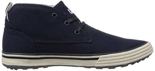 Caterpillar Esteem Mid Canvas, Baskets hautes homme Bleu - Blau (MENS NAVY)