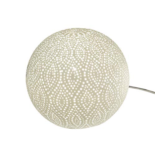 formano kugellampe Formano Kugel-Lampe 'Swing Punkte', 21 cm, weiß