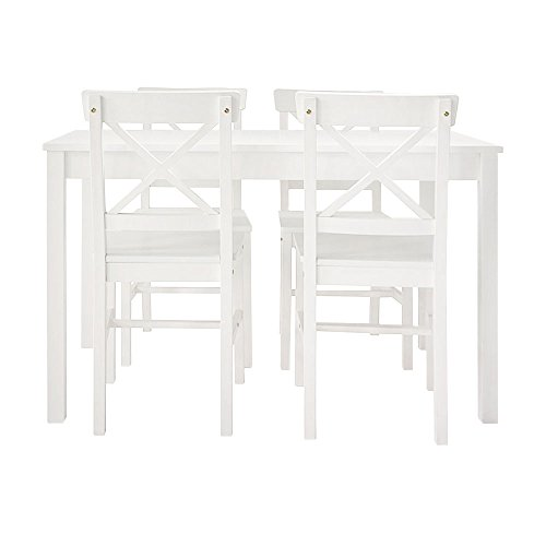 Furniture 247 - Roble Essgruppe - Weiß