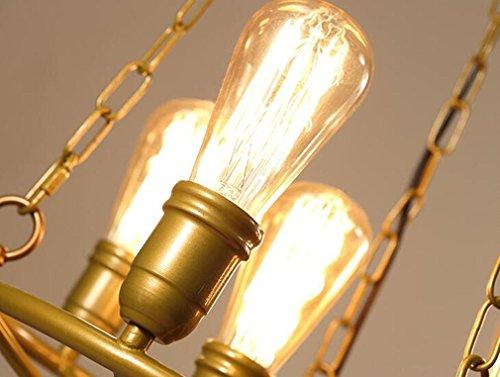 Mulang lampadario a bracci retro bilancia creativo del ferro