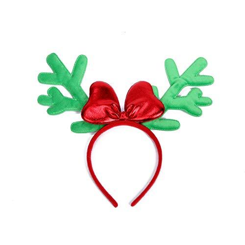 ADKYcorna Natale fascia di Natale cappello paillettes d'ordine della carta festa regalo di Natale (6 pezzi)