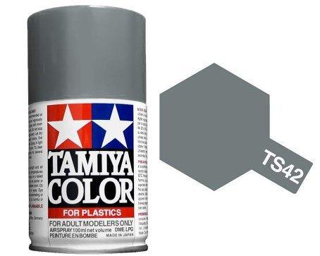 Outletdelocio. Tamiya 85042. Spray TS-42. Pintura esmalte color Gris A