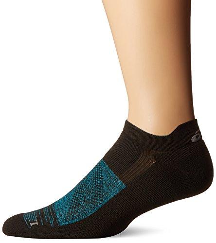 Kissen Tab Socke (ASICS fuzex Graffiti Kissen Single Tab Running Socken, Unisex, ZK3179, Black/Thunder Blue, S)