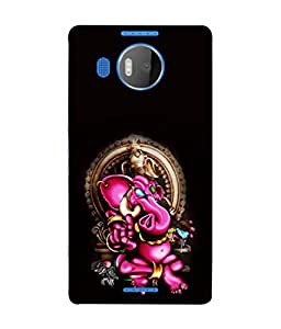 PrintVisa Designer Back Case Cover for Nokia Lumia 950 XL (son of shiv and parvati)