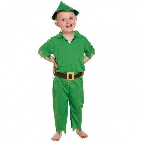 4 Stück Jungen Kinder Kinder Peter Pan Buch Tag Woche Verkleidung Kleid Kostüm Outfit Alter 3 Jahre
