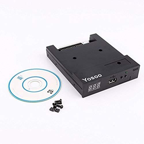 Yosoo SFR1M44-U100K USB-Diskettenlaufwerk-Emulator für Yamaha Korg elektronische Orgel, aktualisierte Version, 8,9cm schwarz schwarz
