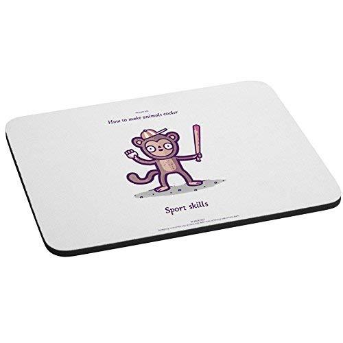 Wie Sie Tiere Kühler Monkey Sport Fähigkeiten Funny Randy Otter Computer Maus Pad