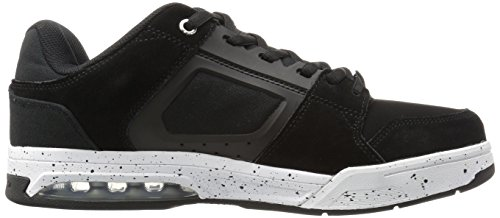 DC Shoes Men's Rival Low Top Shoes Black/White