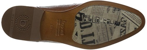 Bugatti Herren 312419011100 Derbys Braun (Cognac)