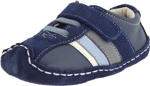 See Kai Run , Chaussures souple pour bébé (garçon) Bleu Bleu 0-6 Monate