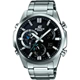 Casio Herren-Armbanduhr Edifice Analog - Digital Quarz Edelstahl ERA-500D-1AER