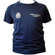 CNP camiseta policia nacional tejido tecnico para entrenamiento  oposiciones 0ba705dff7b