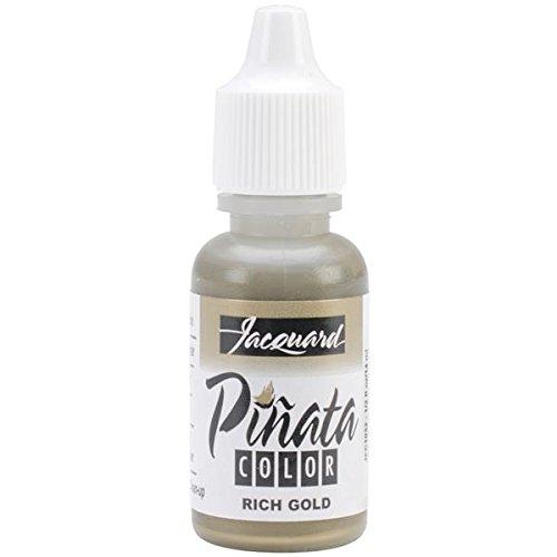 Jacquard Pinata Farbe auf Alkohol-Basis, Rich Gold, 1/2 oz