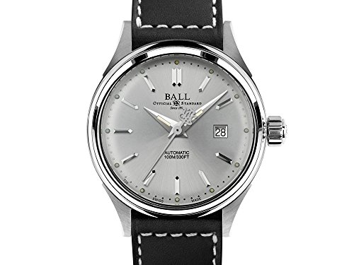 Ball Fireman Classic Ladies Automatic Watch, Stainless steel, NL2098C-LJ-WH