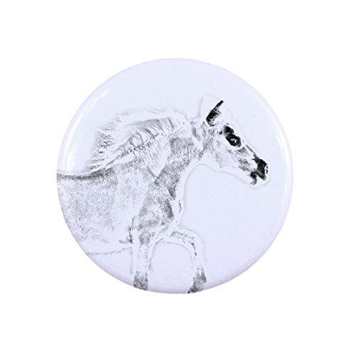 falabella-eine-taste-abzeichen-mit-einem-pferd