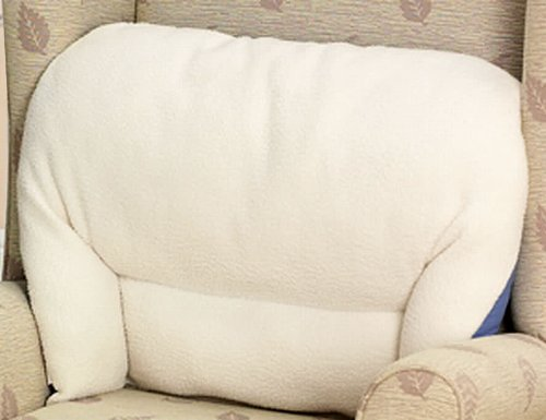 Chums cuscino da poltrona, schienale di supporto lombare, in pile