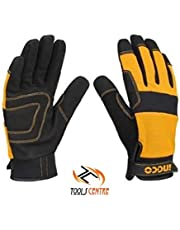 ToolsCentre Mechanic Ingco Microfibre Mechanic/Bike/Cylcing/Tracking Gloves