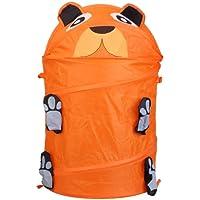 demiawaking Cute Animal Cubo para almacenamiento de ropa plegable cesta de la ropa sucia caja de
