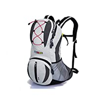 Bicycle Backpacks Travel Rucksacks, 22 Liters (Light gray)