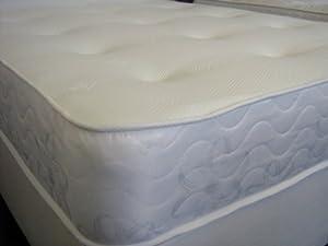 Starlight Beds 3ft single mattress 90cm x 190cm Galaxy memory foam sprung mattress