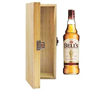 700ml Bells 8 YO Extra Special Whisky in Hinged Wooden Gift Box by Bells