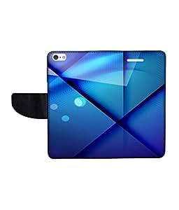 KolorEdge Printed Flip Cover For Apple IPhone 5 Multicolor - (43KeMLogo11743IPhone5)