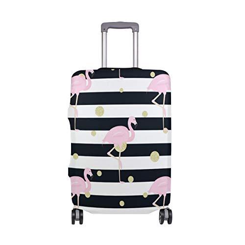 FANTAZIO Flamingos - Funda Protectora para Maleta