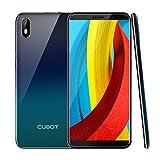 CUBOT J5 Dual SIM Smartphone 13,97cm (5,5 Zoll) IPS Capacitive TouchDisplay, 2GRAM+16GROM, 2800mAh Akku, Android 9.0 Oreo, Handy Ohne Vertrag, Face ID, GPS(Gradient)
