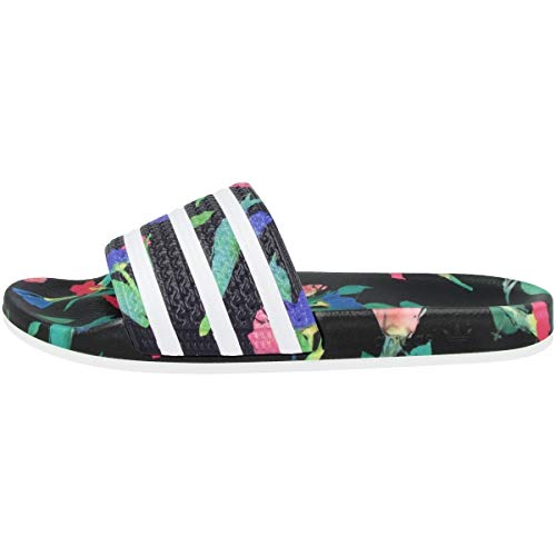 adidas Damen Adilette W Aqua Schuhe, Mehrfarbig FTWR White/Core Black Ee4853, 42 EU -