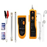 Litake Wire Tracker, RJ11 RJ45 Line Finder Cable Tester for Network LAN Ethernet Cable Collation, Phone Telephone Line Test Wire Tracer Cable Tracker