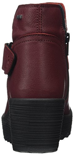 FLY London Damen Gore-Tex YOCK062FLY Stiefel Rot (Cordoba Red)