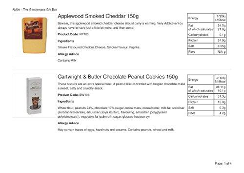 La cesta selecta de comida gourmet: una cesta de regalo con queso y vino adecuada para él o para ella - 2