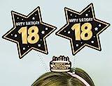 Cerchietto con Antenne 18 Anni - Accessori Festa 18° Compleanno
