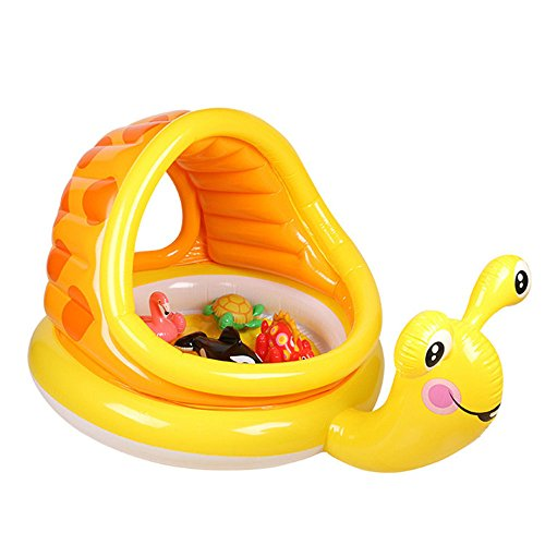Sunbobo Inflatable PVC Children Boy Girl Kids Pool Foldable Anti-slippery(For 0-3 Years)