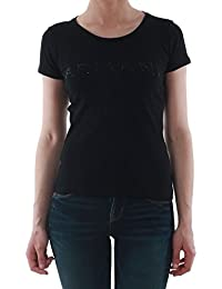 Armani Jeans - FEMME - Tee Shirts Manches Courtes - V5H17 Noir