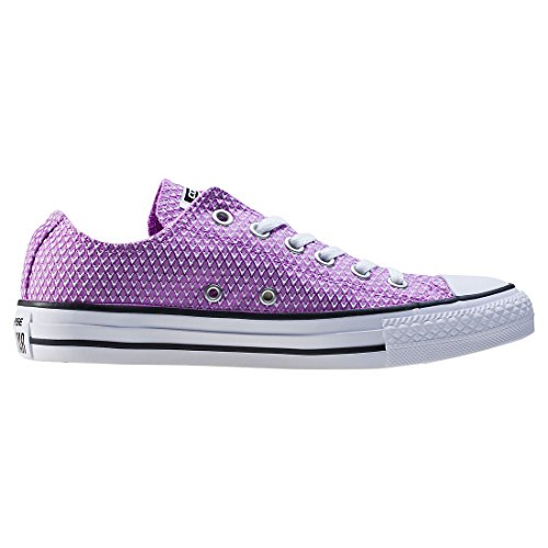 Converse Womens CT AS Ox Snake Woven Woven Trainers Fuchsia