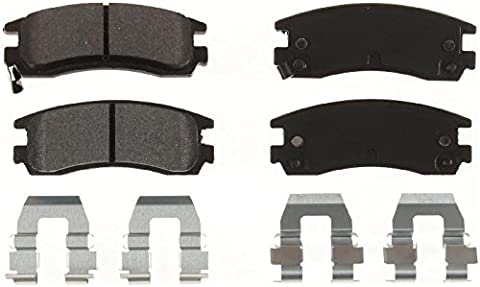 1Set = 4Front Brake Pads for Buick, Chevrolet, Oldsmobile and