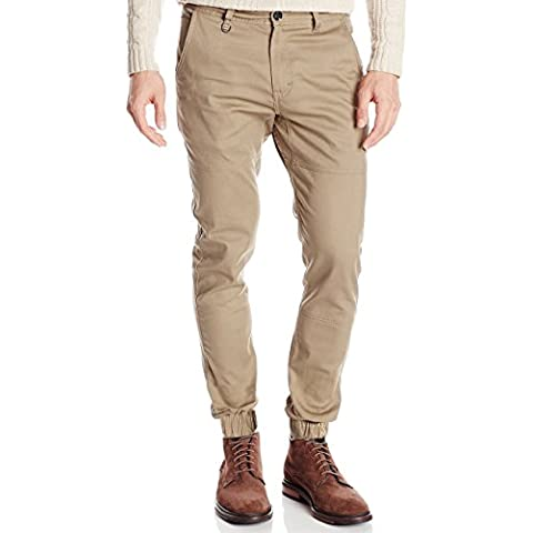 Italy Morn Hombres Chinos pantalones casuales pantalones de color caqui sarga de algodón pantalones de frente plano Joggers vestido Slim Fit Stretch Negro