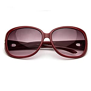 Z-P Women's Vintage Elegant New Style Big Frame Driving Sunglasses UV400 60mm