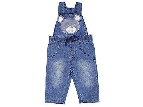 JACKY Baby Jungen Serie BEAR Jeans Strampler Bodies Sets Schlafsäcke (74, Jeans-Latzhose)