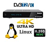 Mut@nt digital technology ULTRA HD HD51 mit 1xDVB-C/T2 Tuner 2160p 4K-BOX E2,PVR, Linux Receiver