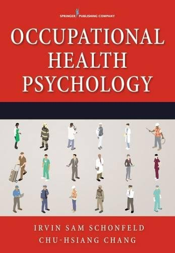 Occupational Health Psychology