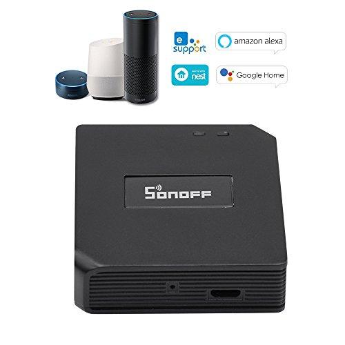 SONOFF RF Bridge WiFi Switch Wireless ITEAD 433MHz Smart Home-Automatisierungsmodul Wireless Switch Universal-Timer DIY Konvertieren 433MHz RF-Fernbedienung App mit Amazon Alexa & Google Home
