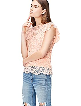 FIND Frill Sleeve Lace - Blusa Mujer
